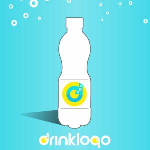 water 1500 ml mineral still spring drink logo