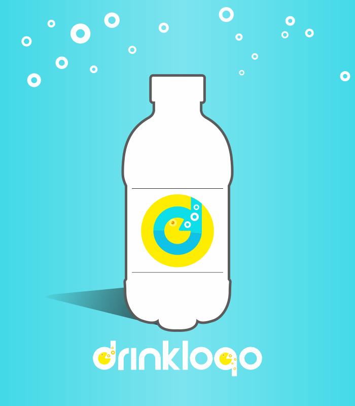 water 380 ml mineral still spring drink logo