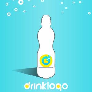 Bottled water 500 ml sport cup mineral still spring drink logo