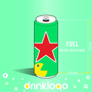 Beer 500 ml canned aluminium